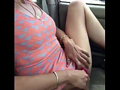 Anita outdoors in parking lot