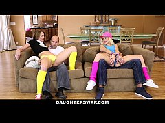 DaughterSwap - SluttyTeen Girls Fucked Before Rave