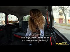 Fake Taxi Teen Angel Sabrina Spice Fucked by a Taxi Driver