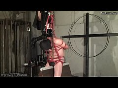 Japanese Femdom Kira Whipping and Hanging