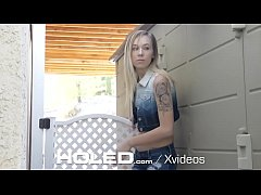 HOLED Hungry break in artist Jasmine Riley anal fucked