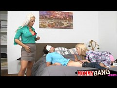 Holly Heart and Aubrey Gold hot 3some