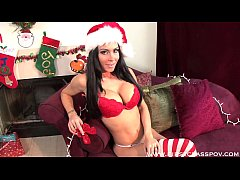 Jessica Jaymes Xmas Blowjob