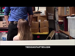 Petite Blonde Teen Shoplifter With Big Tits Nadya Nabakova Sex With Security Officer For No Cops