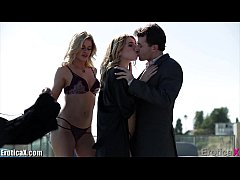 EroticaX James Deen In HOT Blonde Sandwich