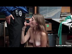 Shoplifter Alyce Anderson Learns The Hardway