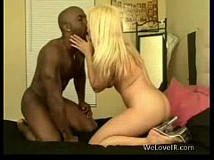 blonde loves interracial sex