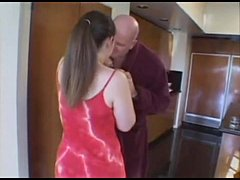 Chubby Girl Unsure About Fucking Old Guy
