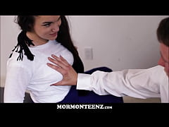 Horny Young Mormon Girl Sarah Snow Seduces Young Mormon Boy