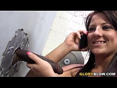 Casey Cumz Sucks BBC In A Gloryhole