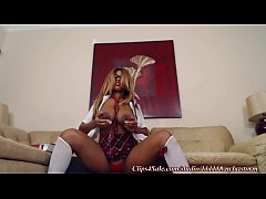 Nyla Storm Is a Naughty School Girl!