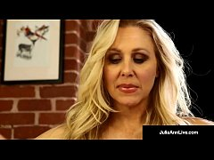 Award Winning World Famous Milf, Julia Ann Rubs her Creamy Pussy until her Panties are Sopping Wet with her Love Juice! Want to Play in her Wet Panties? Full Video & Live @JuliaAnnLive.com!