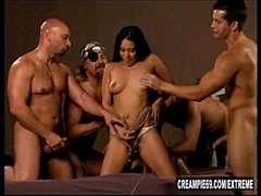 Latina Slut Takes 5 Creampies