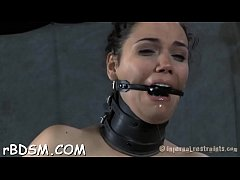 Girl gets her anal prodded with toy drilling on her clits