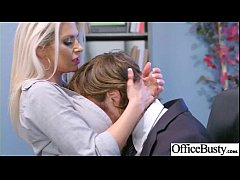 (Rachel RoXXX & Skyla Novea) Sexy Big Tits Office Girl Love Hard Sex clip-29