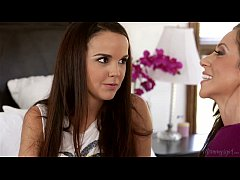 I have lesbian experience before your Dad! - Dillion Harper, Ariella Ferrera