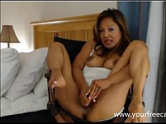 Asian Milf Masturbation