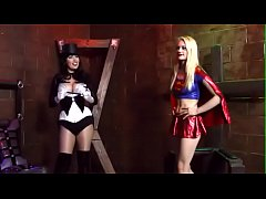 sdSupergirl captured, spanked and humiliated : Part 1