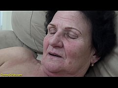 hairy 72 year old mom gets extreme hard fucked by her young toyboy
