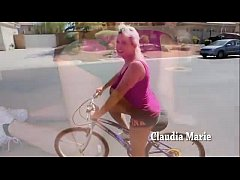 Fake Saggy Udders Claudia Marie Bike Safety