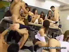 Group Sex in Classroom