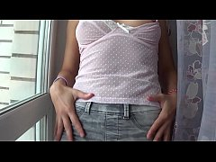 Camilla Moon my big nipples through pink underwear