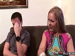 Kelly Leigh is a big boobed MILF who has blonde h