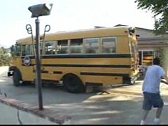 Schoolbus girl - Ashley