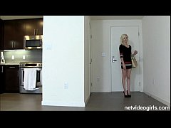 Tall leggy blonde amateur earns fukcheck