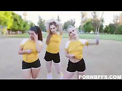 Natalie Knight , Gabriela Lopez , Bobbi Dylan In Track And Feel