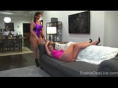 Busty Big Titty Brit Sophie Dee LOVES GIRLS! Sara Jay! SophieDeeLive.com