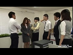 HD japanese women humiliated in office