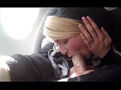 sucking me in the airplane