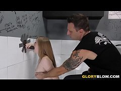 Dolly Leigh Takes Big Black Cock At A Gloryhole