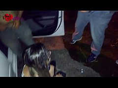 Play short 3GP - Cuckold takes his wife on her first Dogging to be abused by strangers