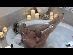 Hot MIlf in Bubble Bath - Sally D'angelo