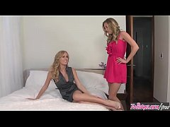 Two hot blonds (Brett Rossi, Samantha Saint) love licking pussy - Twistys
