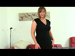 British milfs Sexy P and April feel so naughty today