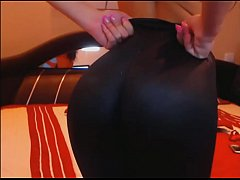 webcam spandex leggings