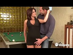 All Natural & Curvy MILF Gets Fucked On A Pool Table