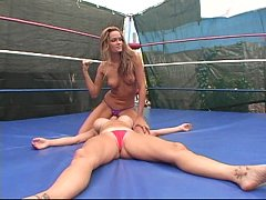 Young Prinzess defeats Summer Cummings in a Face-Sitting Match