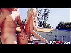 Fucking a perfect 10 blonde at the pool 2 2