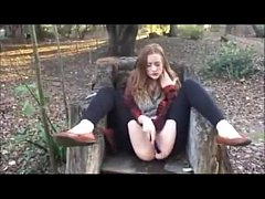 LittleKissMuffin-Teen Squirts Outdoors--more videos on xhotgirlcam.com
