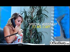 (Cali Carter) Sexy Big Tits Office Girl Love Hard Sex clip-07