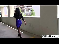 Sex Tape In Office With Slut Nasty Big Melon Tits Girl (amia miley) vid-02
