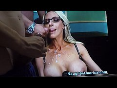 Emma Starr Cumshot on glasses