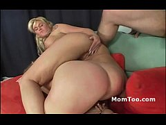 Blonde mom and daughter team and share fat dick and even do pussy2mouth