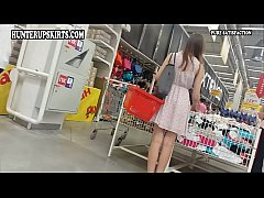 Young girl choosing panties