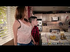 brazzers - mommy got boobs - homemade american tits scene starring ariella ferrera and jordi el ni and a