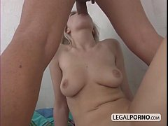 Hot blonde milked and fucked NL-6-03
